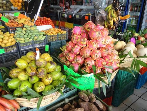 Exotic Fruits of the Riviera Maya